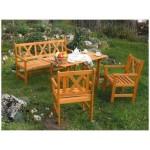 Dřevěný zahradní nábytek- jaký vybrat a jak o něj správně pečovat